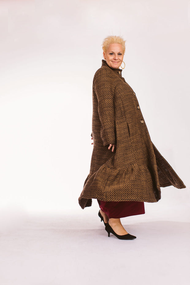 Long Brown Coat