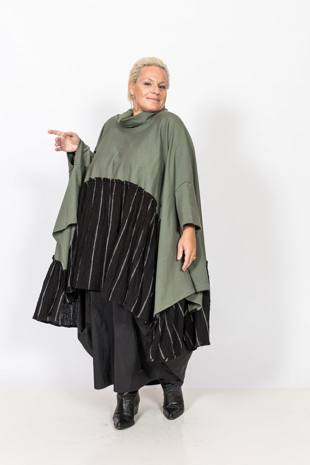 Oversized Olive Tunic/Dress