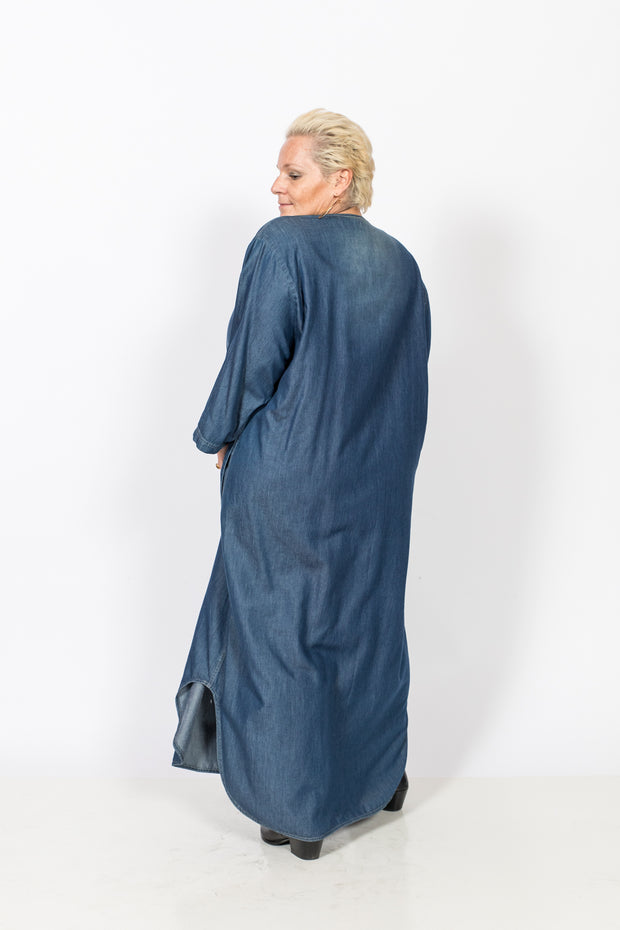 Maxi Denim Dress