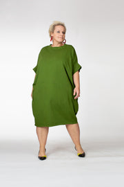 Cocoon Cotton Dress