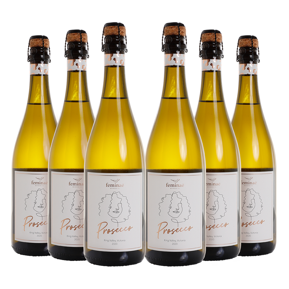 6 PACK FEMINAE X ASH LONDON PROSECCO