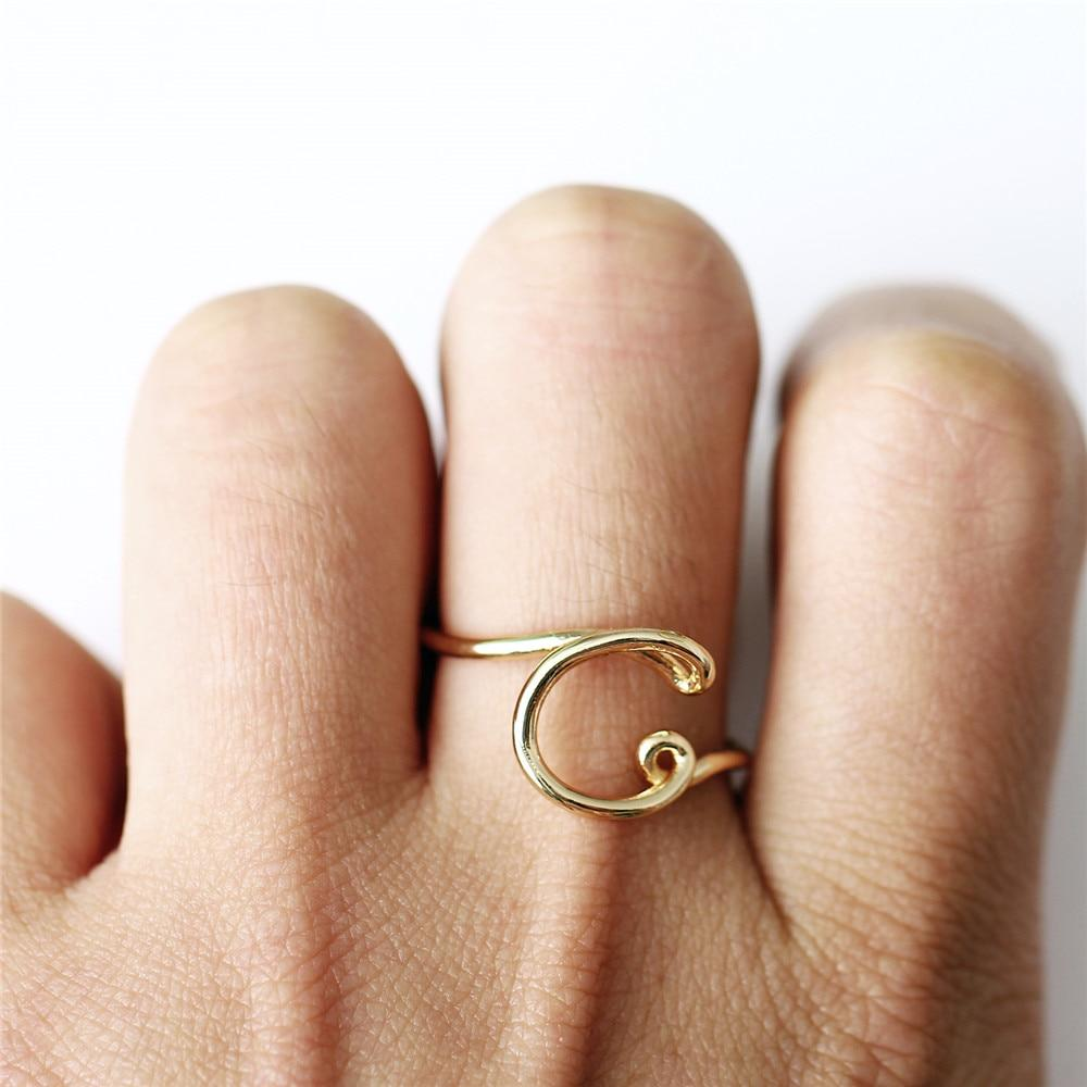 Female Statement Party Charm Ring
