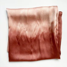 Load image into Gallery viewer, Botanically-Dyed Silk Pillow Case, Sedona
