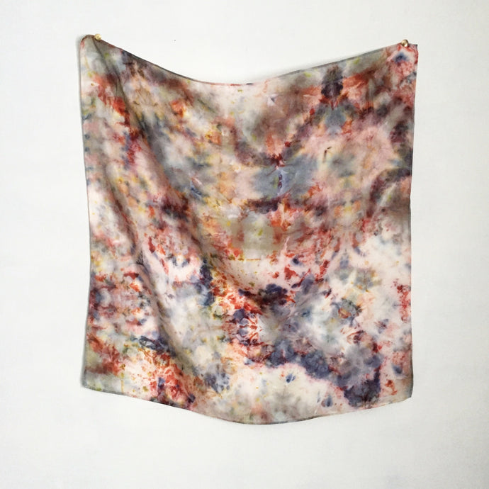Botanically Bundle-Dyed Bandana, Austin
