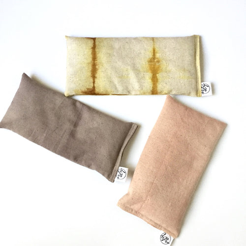 Botanically-Dyed Lavender Eye Pillow