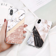 Load image into Gallery viewer, Glitter Marble Cases