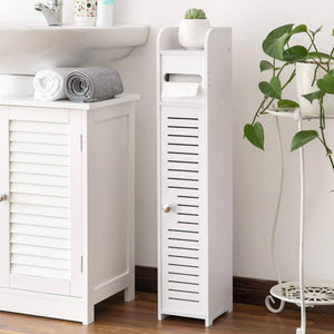 Small Bathroom Storage Corner Floor Cabinet