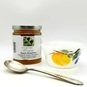 Thornburg Gourmet Preserves - Peach With Brandy And Ceylon Cinnamon
