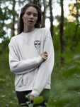 The Original White Sweatshirt (with back design)