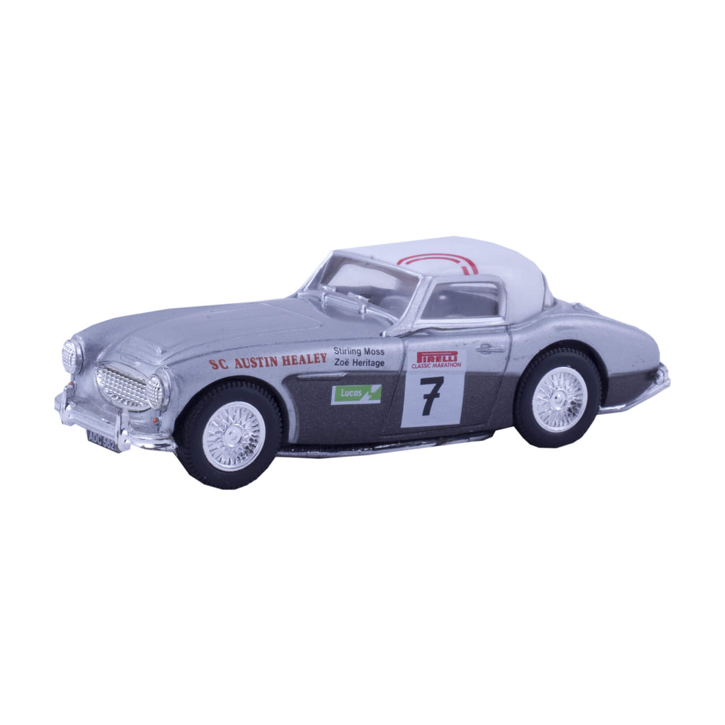 1961 AustinHealey 3000 Mk2 Rally Car 1:43 Model by Corgi