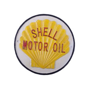 Shell Motor Oil - Cast Iron Wall Sign Accessory