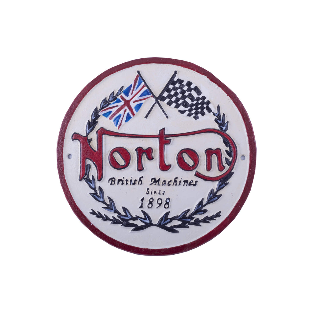 Norton - Cast Iron Wall Sign Accessory