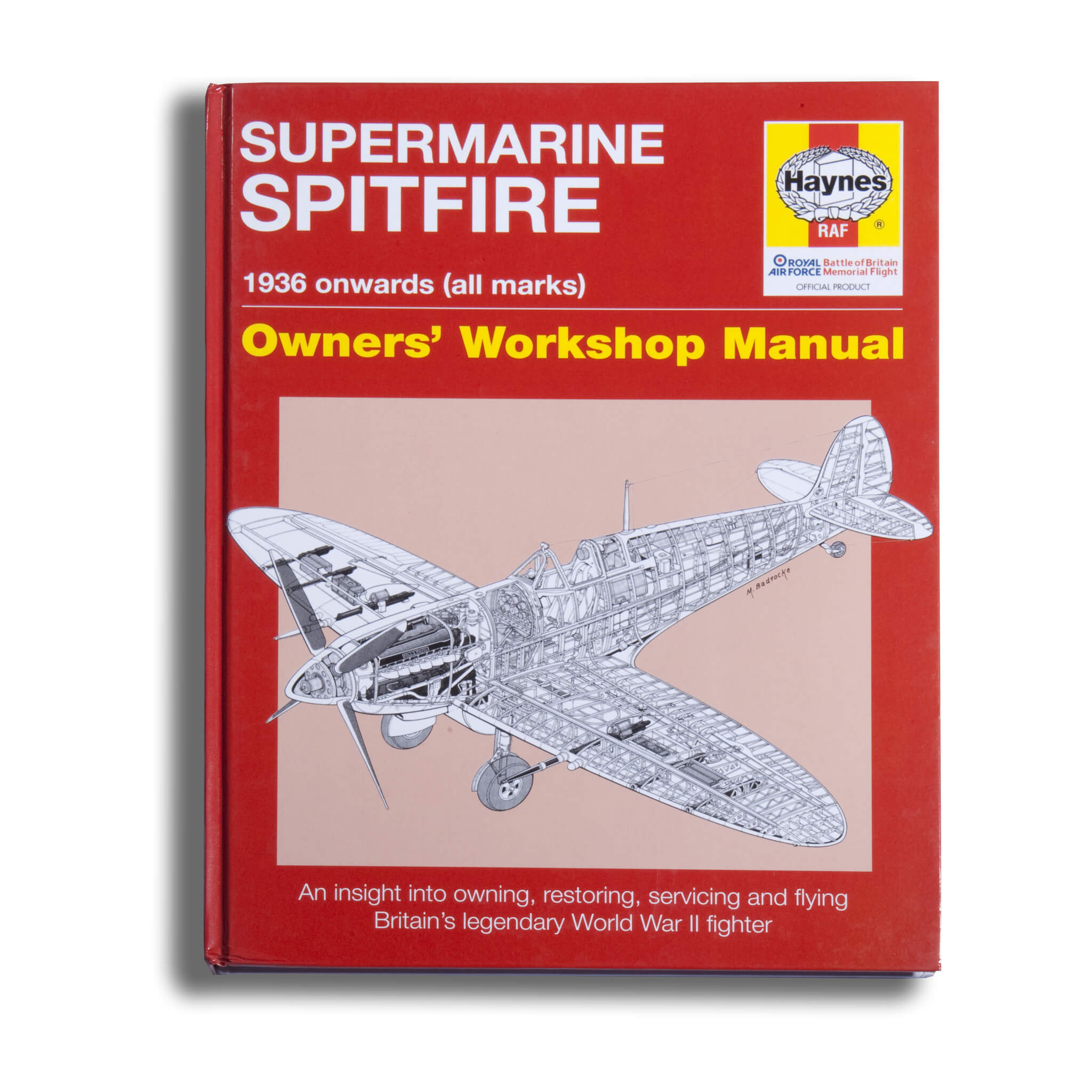 Supermarine Spitfire Owners Workshop Manual Book