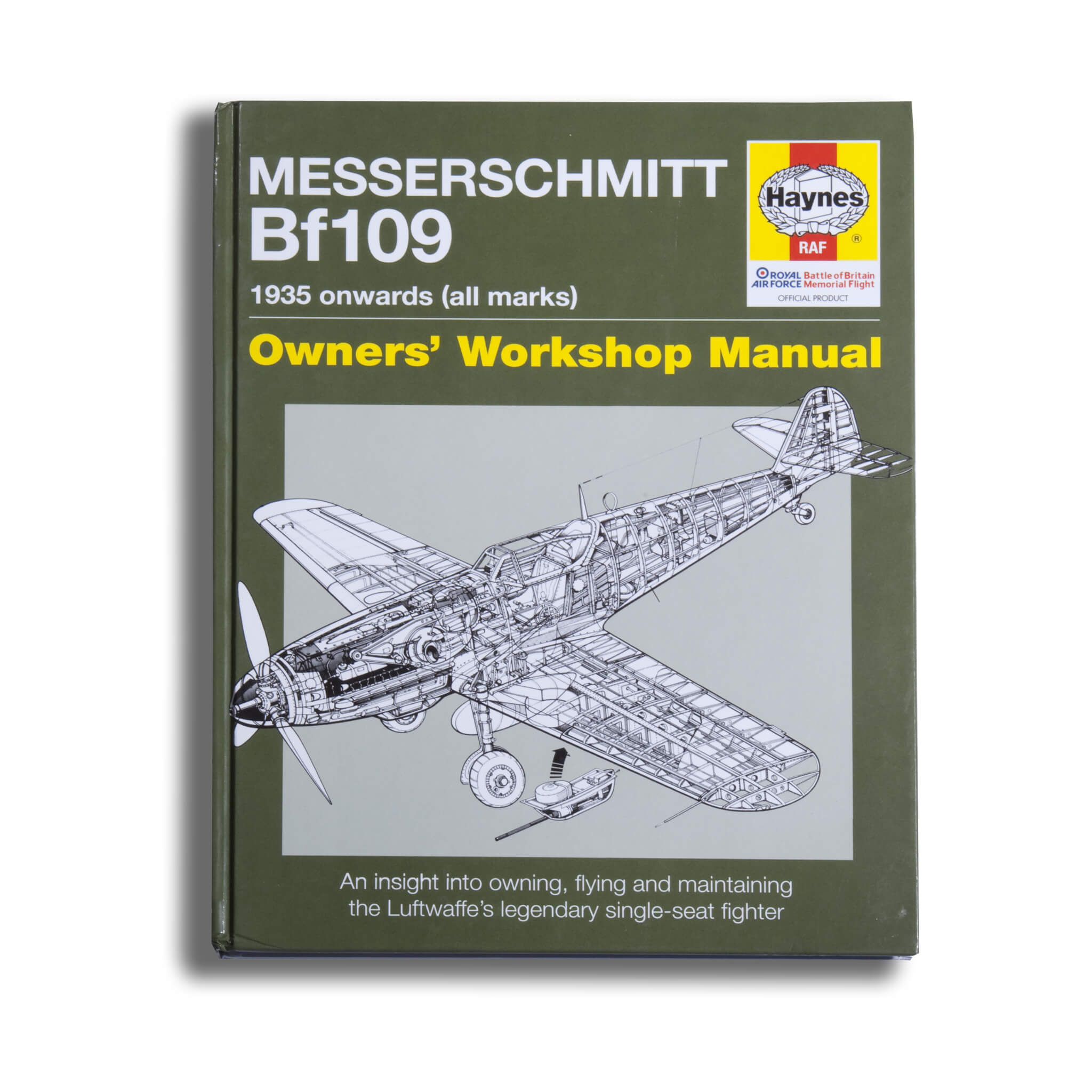 Messerschmitt Bf109 Owners Workshop Manual Book