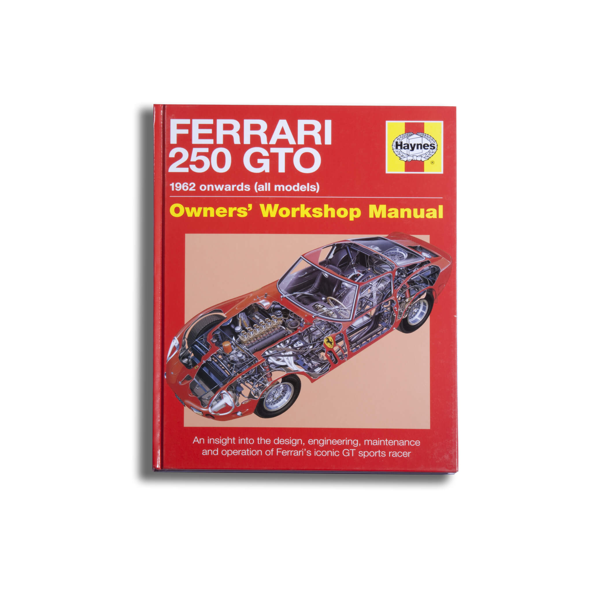Ferrari 250 Gto Owners Workshop Manual Book