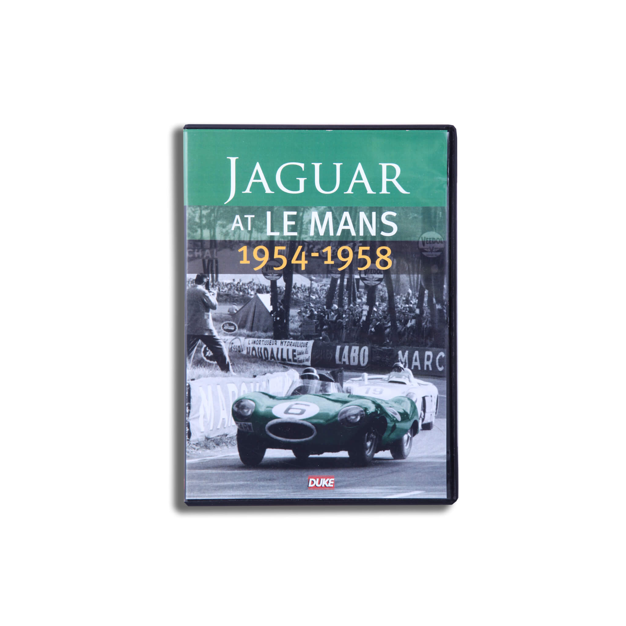 Jaguar At Le Mans 1954-1958 Dvd Dvd