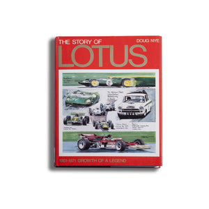 The Story Of Lotus 1961-71: Growth Of A Legend Book