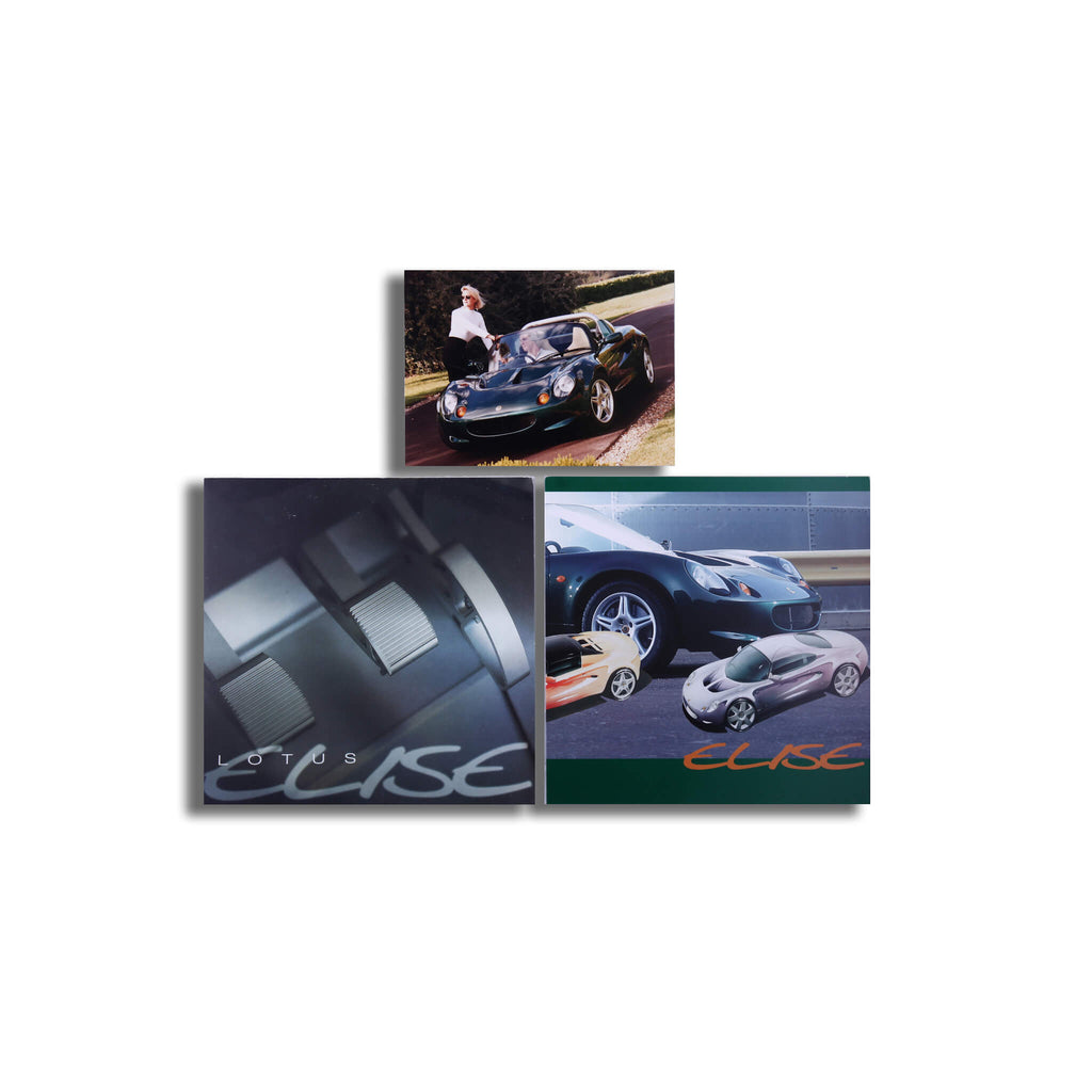 Lotus Elise Original Sales Brochure Set Brochure