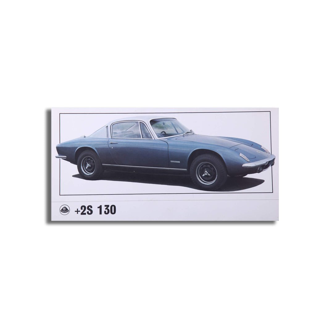 Lotus Elan Plus 2 130 Original Sales Brochure Leaflet Brochure