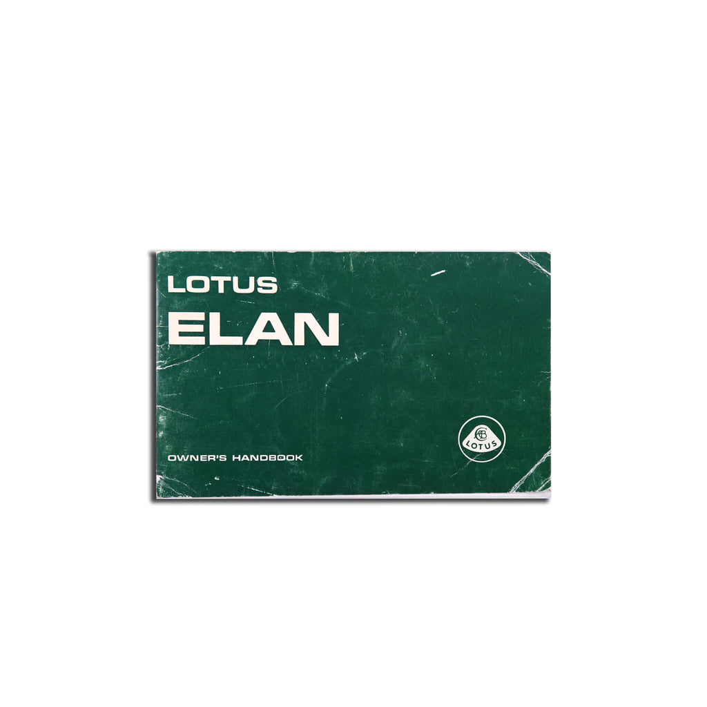 Lotus Elan Owners Handbook - Original Brochure