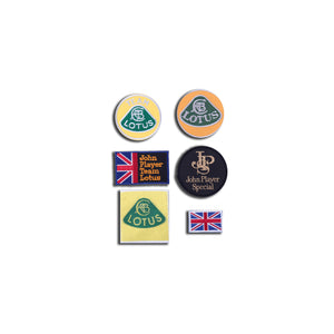 Set Of 6 Lotus Patches Accessory