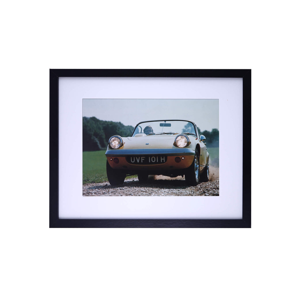 Lotus Elan Print by Classic Cars magazine