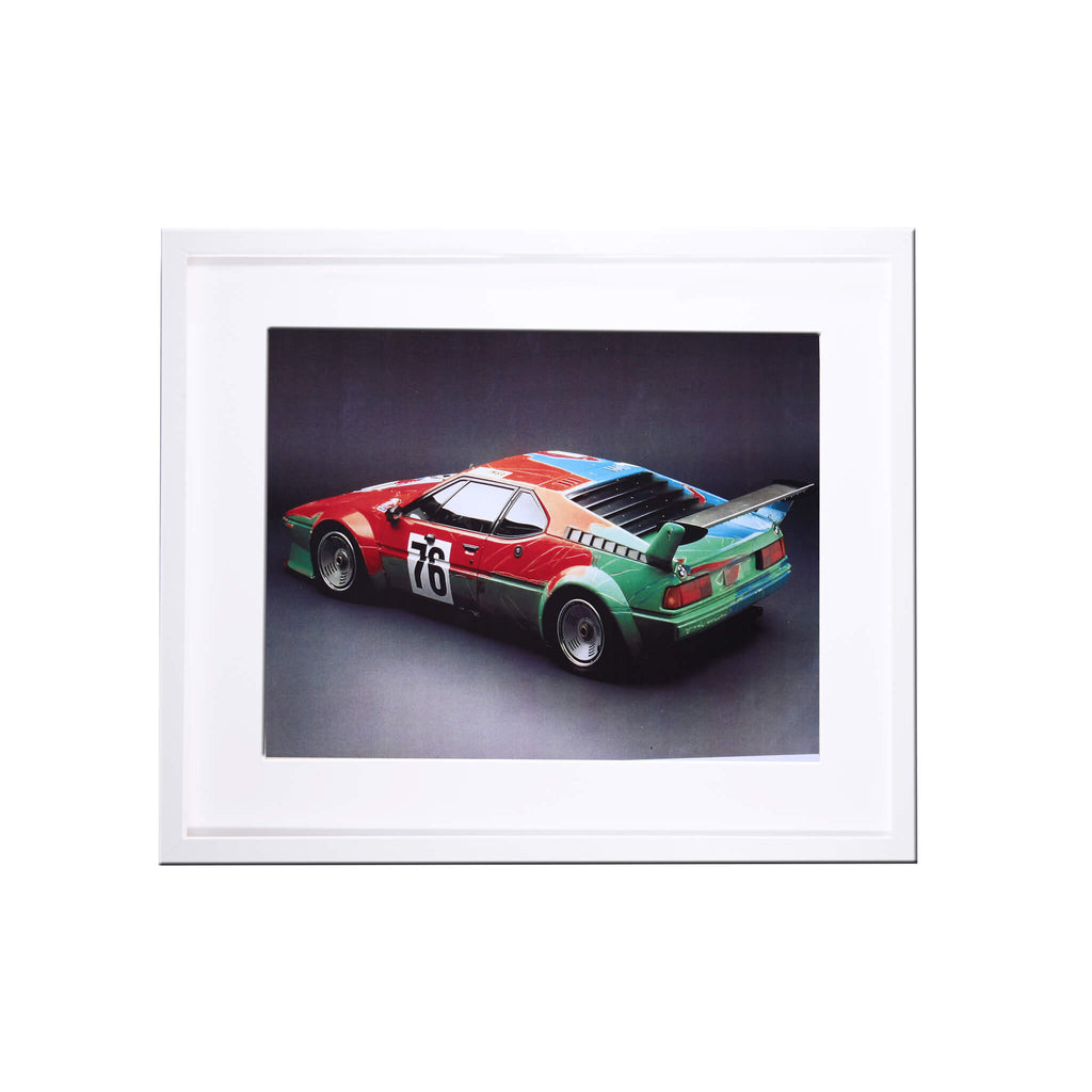 Bmw M1 Art Car Print By Andy Warhol Print
