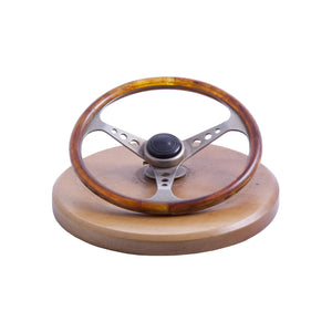 Vintage Steering Wheel Paper Holder Accessory