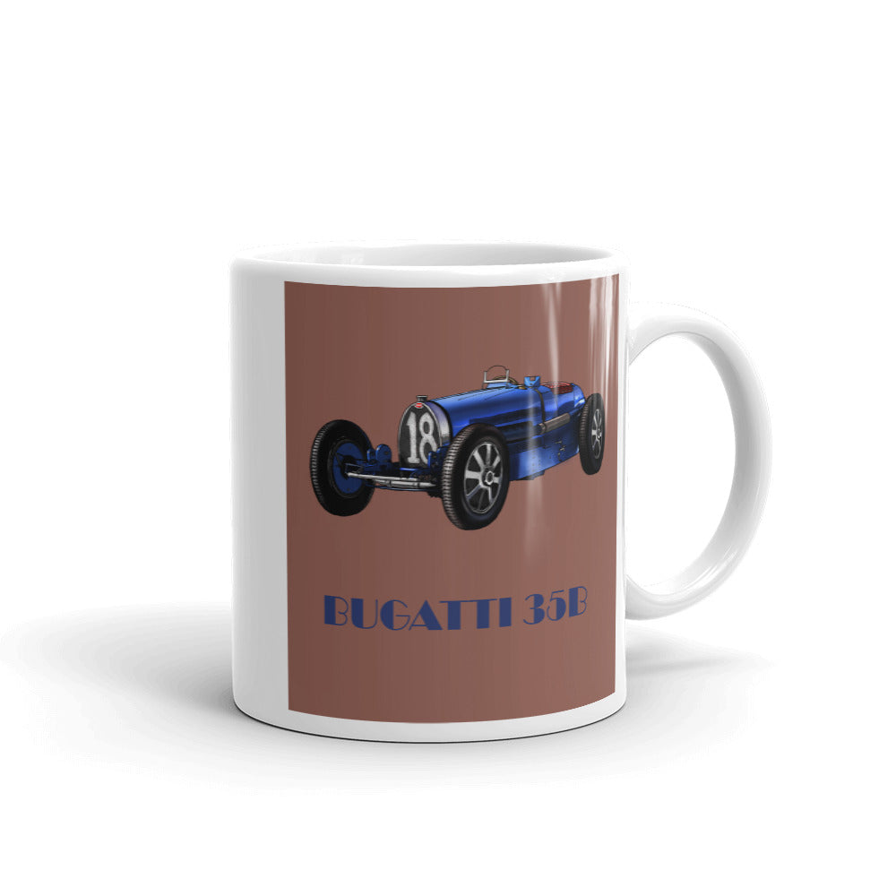 Bugatti Type 35B Mug Copper