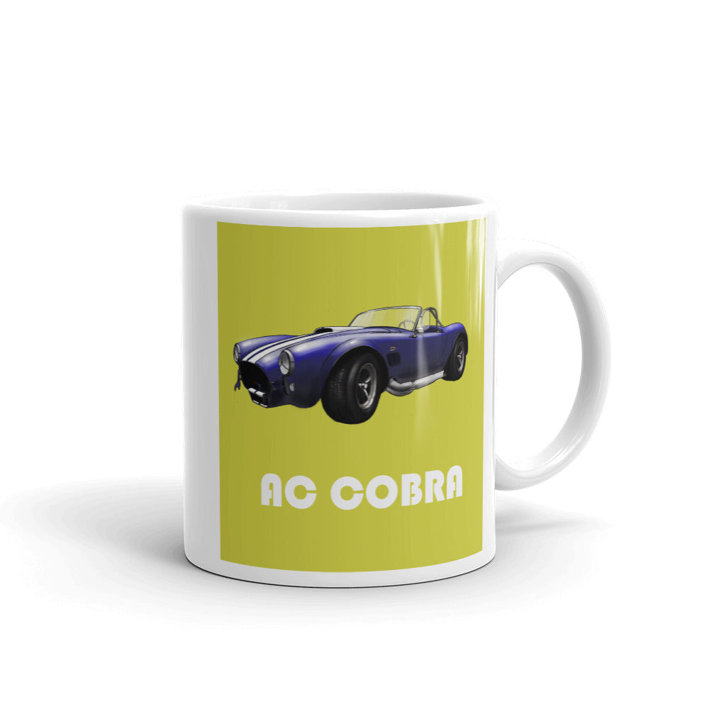 AC Cobra 427 Mug Yellow