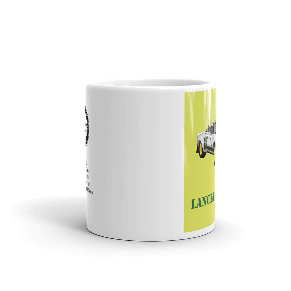 Lancia Stratos Mug Yellow