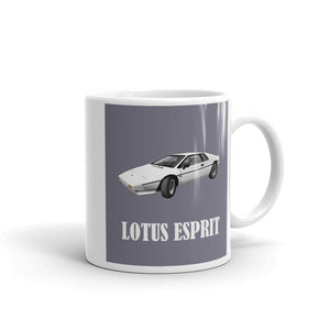 Lotus Esprit Mug Grey