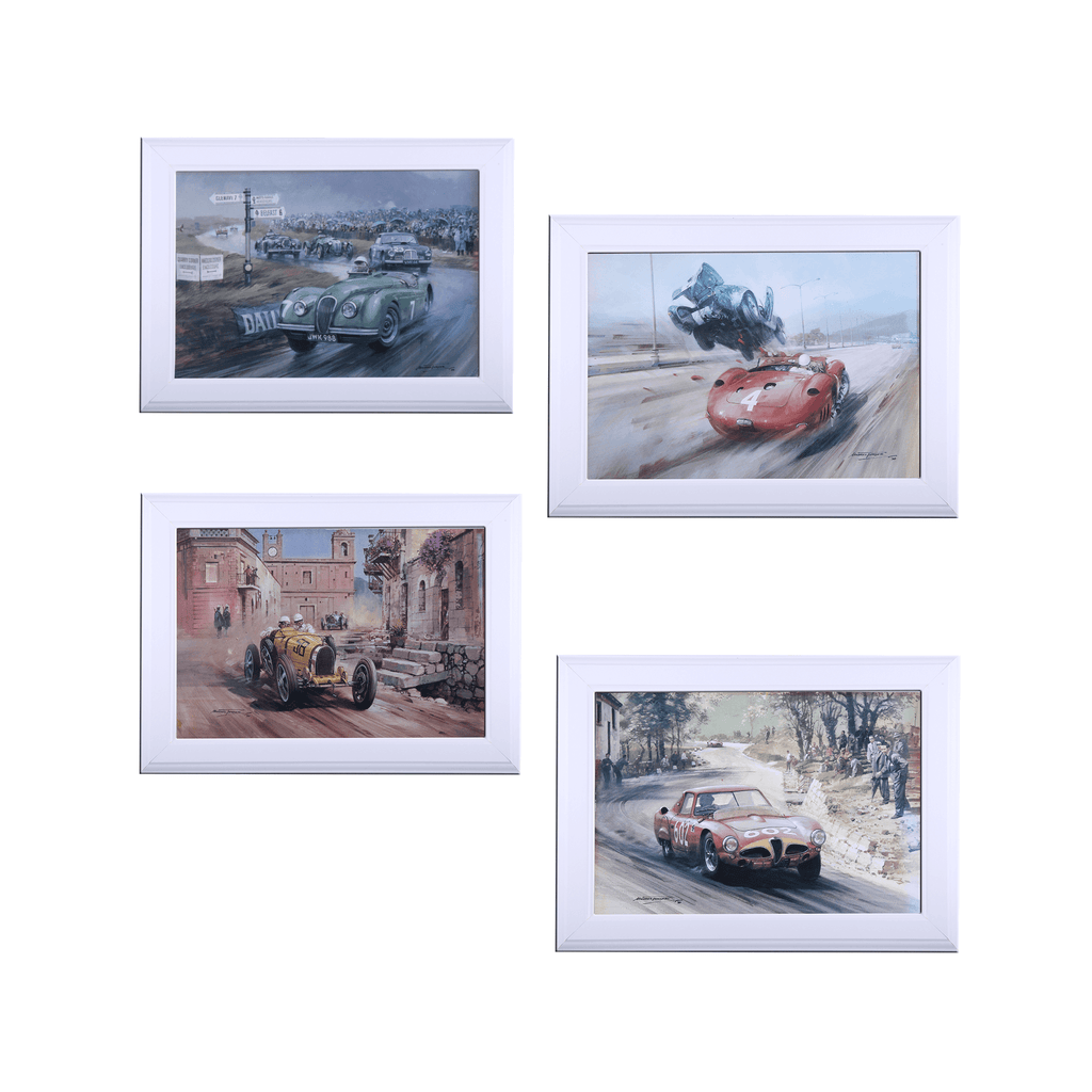 Set of 4 Prints by Michael Turner