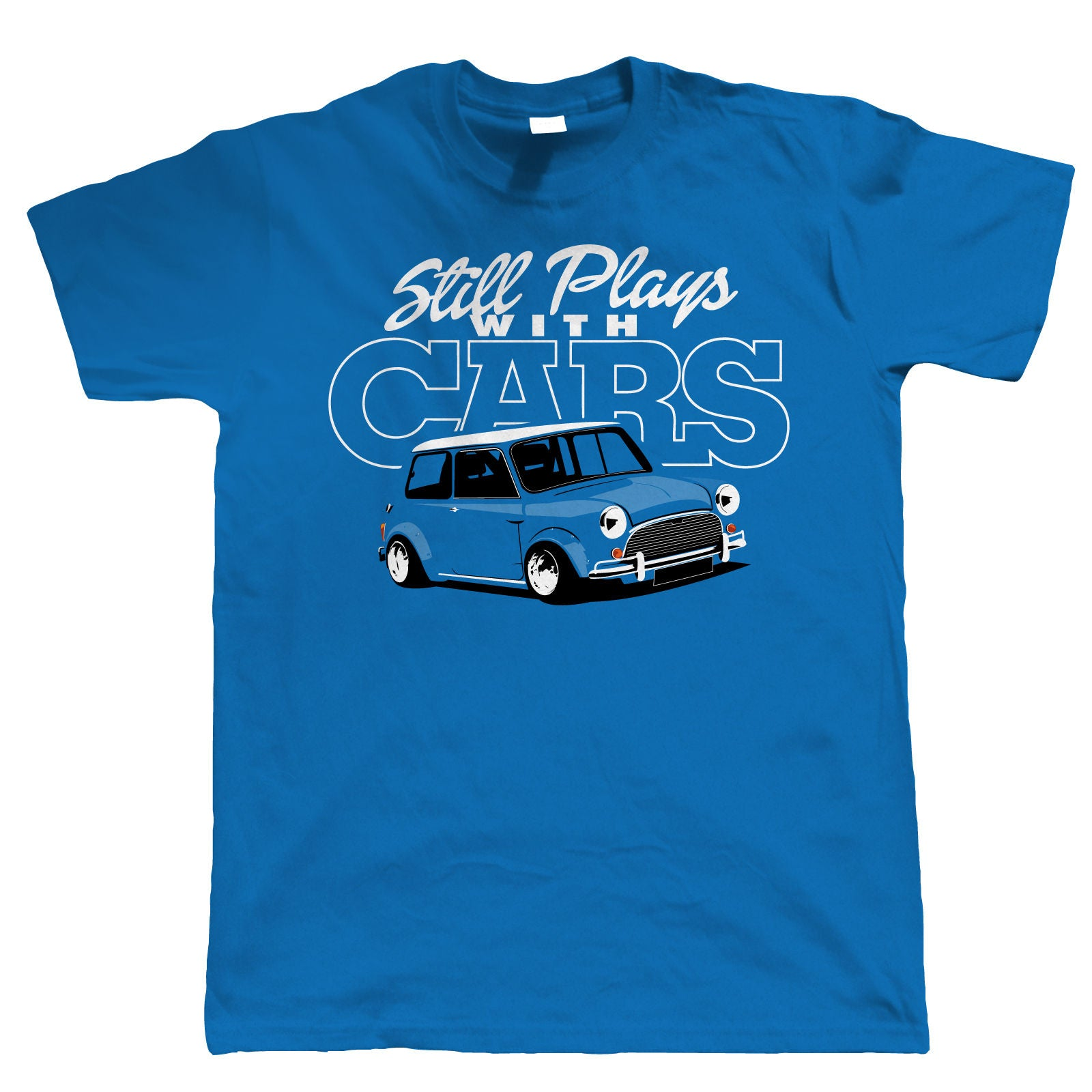 Still Plays with Cars - Classic Cooper T-Shirt