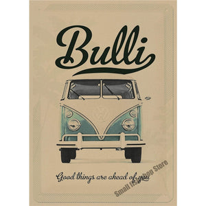 Volkswagen Vintage Wall Sticker