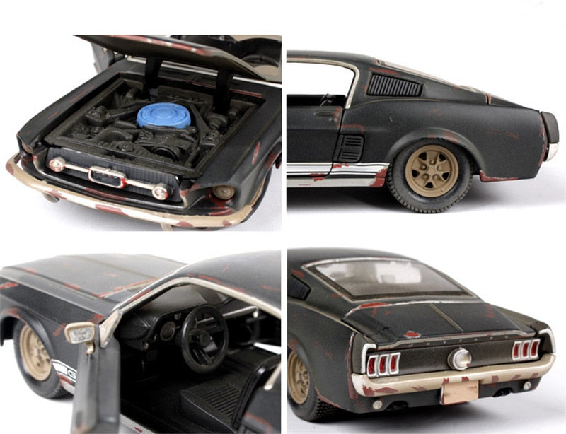 Maisto Old Friends 1:24 patinated 1967 Mustang GT Fastback