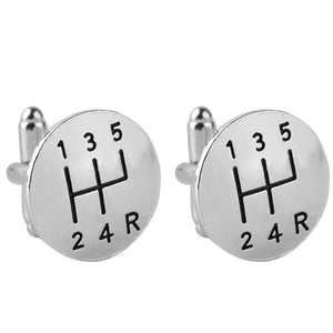 Gear Pattern Cufflinks