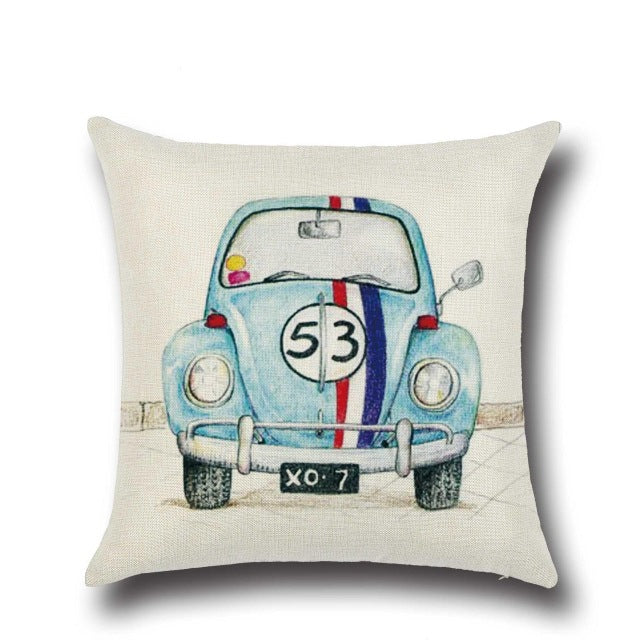 Vintage Car Cushion Covers