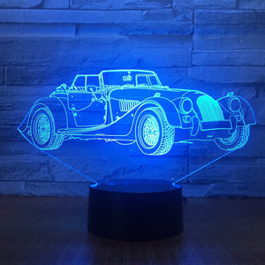 Morgan 3D 7 Colour Lamp