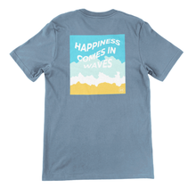 Load image into Gallery viewer, Waves Tee (Ocean Blue)