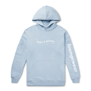 Days Off Hoodie (Powder Blue)