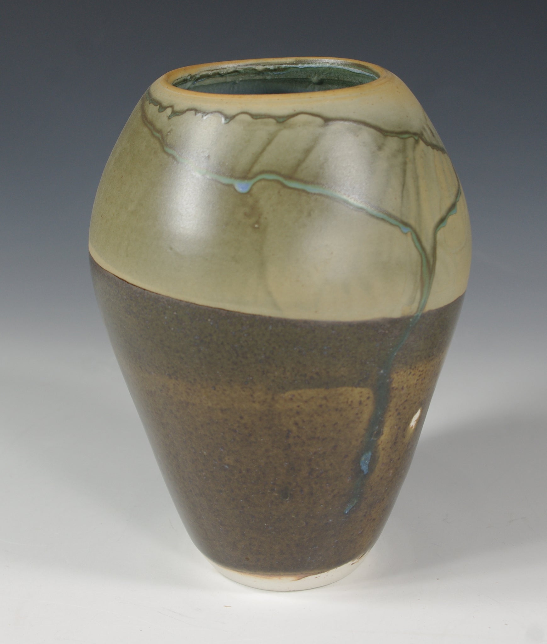 Tri Color Vase #1 - Skip Bleecker
