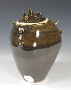 Brown Spiked Jar - Skip Bleecker