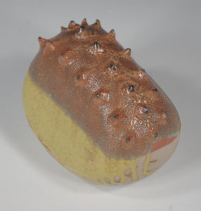 Dinosaur Egg 11 - Ceramic Sculpture by Skip Bleecker