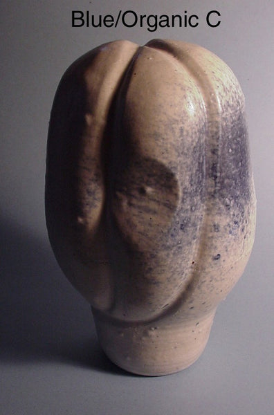 Blue Organic - Ceramic Sculpture by Skip Bleecker