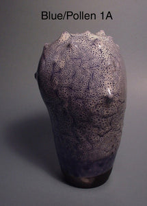 Blue Pollen 1 - Ceramic Sculpture by Skip Bleecker