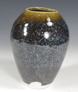 Blue Brown Vase #5 - Skip Bleecker