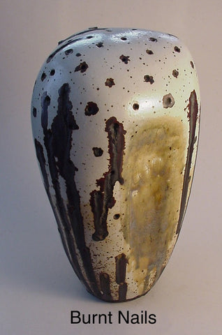 Burnt Nails - Ceramic Sculpture by Skip Bleecker