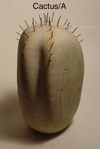 Cactus - Ceramic Sculpture by Skip Bleecker