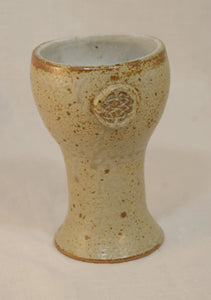 Goblet with Stamp - Skip Bleecker